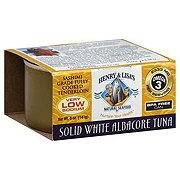 Henry & Lisa's Natural Seafood Low Sodium Sashimi Albacore White Tuna