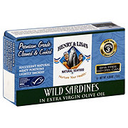 Henry & Lisa's Natural Seafood Wild Sardines In Extra Virgin Olive Oil