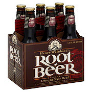 Henry's Root Beer 6 PK Bottles