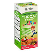 Herbion Naturals Throat Syrup For Children