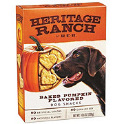 Heritage Ranch by H-E-B Baked Pumpkin Dog Treats