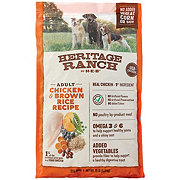 Heritage Ranch by H-E-B Chicken & Brown Rice Dry Dog Food