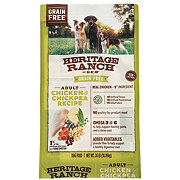 Heritage Ranch by H-E-B Grain Free Chicken & Chickpea Recipe Dry Dog Food