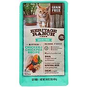Heritage Ranch by H-E-B Grain Free Kitten Formula Dry Kitten Food