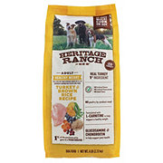 Heritage Ranch by H-E-B Healthy Weight Turkey & Brown Rice Recipe Dry Dog Food