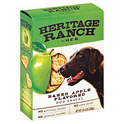 Heritage Ranch by H-E-B Baked Apple Flavored Dog Treats