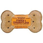 Heritage Ranch by H-E-B Pumpkin & Cinnamon Jumbo Biscuit Dog Treat