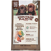 Heritage Ranch by H-E-B Puppy Chicken & Brown Rice Recipe Dry Puppy Food