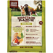 Heritage Ranch by H-E-B Select Ingredients Grain Free Chicken & Chickpea Recipe Dry Dog Food