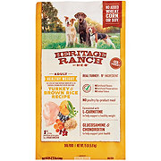 Heritage Ranch by H-E-B Select Ingredients Healthy Weight Turkey & Brown Rice Recipe Dry Dog Food