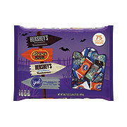 Hershey's Halloween Assorted Shapes Snack Size Bag