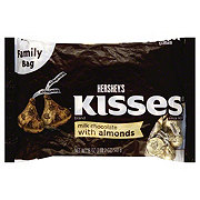 Hershey S Kisses Milk Chocolate With Almonds Family Bag