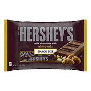 Hershey's Milk Chocolate With Almonds Snack Size Laydown Bag