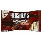 Hershey's Nuggets Milk Chocolate Extra Creamy with Toffee and Almonds Classic Bag