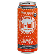 Hiball Organic Blood Orange Energy Drink