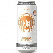 Hiball Organic Sparkling Peach Energy Drink
