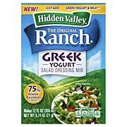 Hidden Valley Greek Yogurt Origina Ranch Salad Dressing Mix