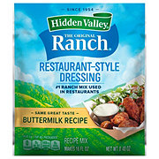 Hidden Valley The Original Ranch Buttermilk Recipe Salad Dressing and Seasoning Mix