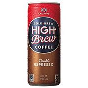 High Brew Coffee Double Espresso