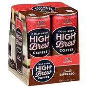 High Brew Coffee Double Espresso 8 oz Cans