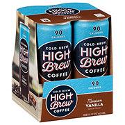 High Brew Coffee Mexican Vanilla 8 oz Cans