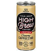 High Brew Coffee + Protein Creamy Cappucino
