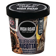 High Road Blueberry Ricotta Luxury Ice Cream
