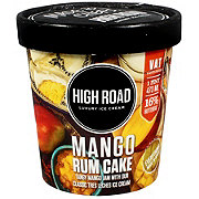 High Road Mango Rum Cake Ice Cream
