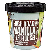 High Road Vanilla Fleur De Sel Craft Ice Cream