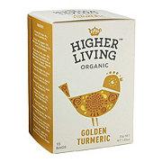 Higher Living Organic Golden Turmeric Tea Bags