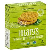 Hilary's Eat Well The World's Best Veggie Burger