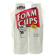 Hill Country Essentials 16 oz Foam Cups