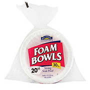 Hill Country Essentials 20 oz Foam Bowls