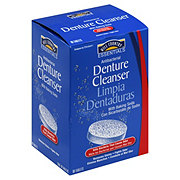 Hill Country Essentials Antibacterial Denture Cleanser With Baking Soda Tablets