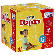 Hill Country Essentials Club Pack Diapers, 60 ct