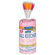 Hill Country Essentials Flap Tie Rose Scented Tall Kitchen 13 Gallon Trash Bags