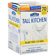 Hill Country Essentials Flap Tie Tall Kitchen 13 Gallon Trash Bags