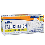 Hill Country Essentials Flap Tie Tall Kitchen Trash Bags