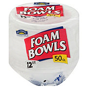 Hill Country Essentials Foam Bowls, 12 oz