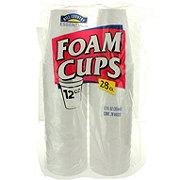 Hill Country Essentials Foam Cups, 12 oz