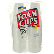 Hill Country Essentials Foam Cups, 20 oz