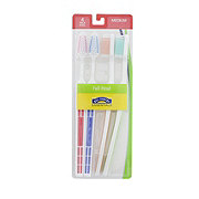 Hill Country Essentials Full Head Medium Toothbrushes