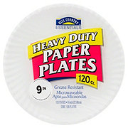 Hill Country Essentials Heavy Duty Paper Plates 9""