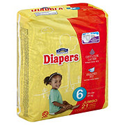 Hill Country Essentials Jumbo Pack Diapers, 21 ct