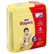 Hill Country Essentials Jumbo Pack Diapers, 24 ct