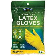 Hill Country Essentials Long Cuff Latex Medium Gloves