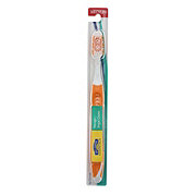Hill Country Essentials Massager/Tongue Cleaner Medium Toothbrush - Colors May Vary