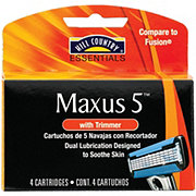 Hill Country Essentials Maxus 5 Cartridges with Trimmer