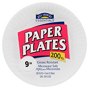 Hill Country Essentials Paper Plates, 9 inch