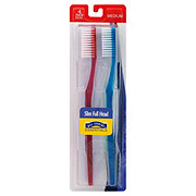 Hill Country Essentials Slim Full Head Medium Toothbrushes